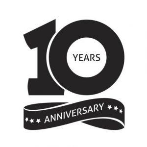 10th Year Anniversary!